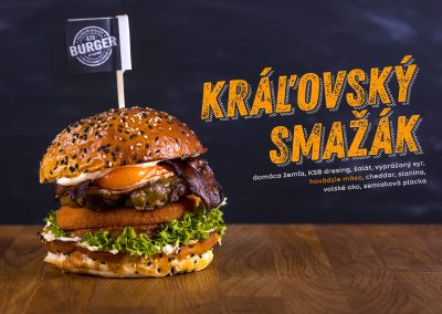 KSB Burger food foto