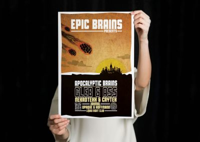 Epicbrains - poster