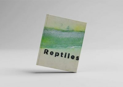 Reptiles book design